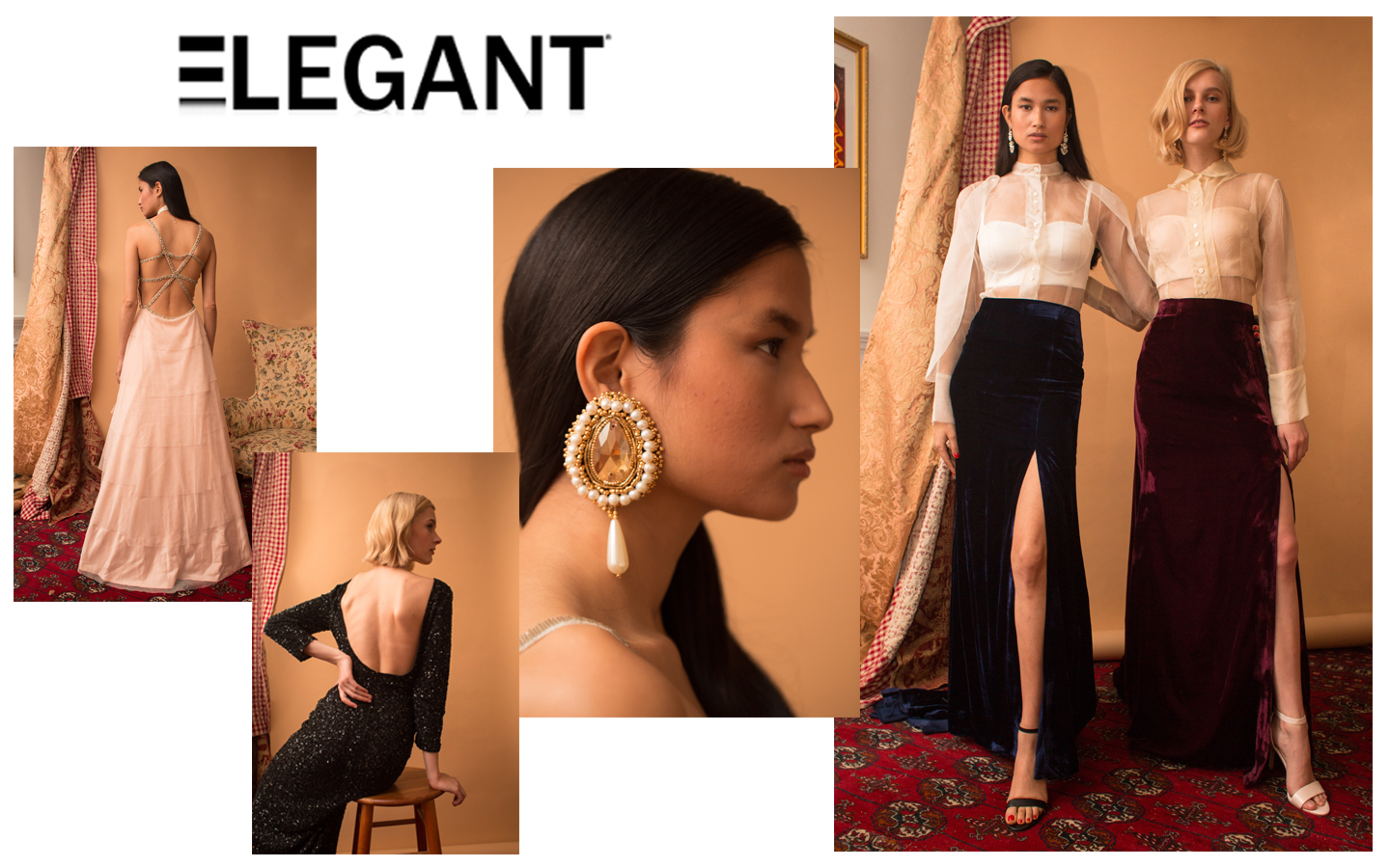 2018 A/W Collection on Elegant Magazine