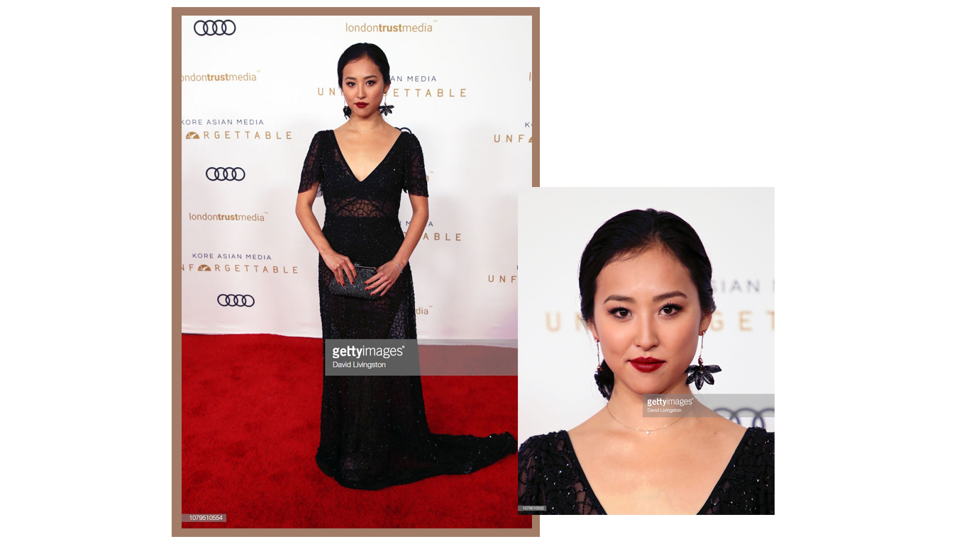 Lyrica Okano at Unforgettable Gala 2018