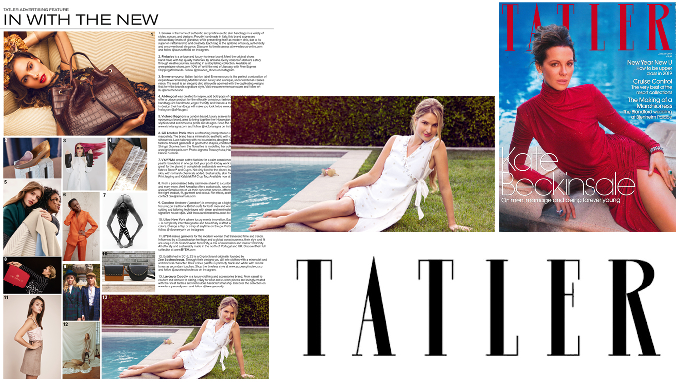 December Issue, Tatler UK