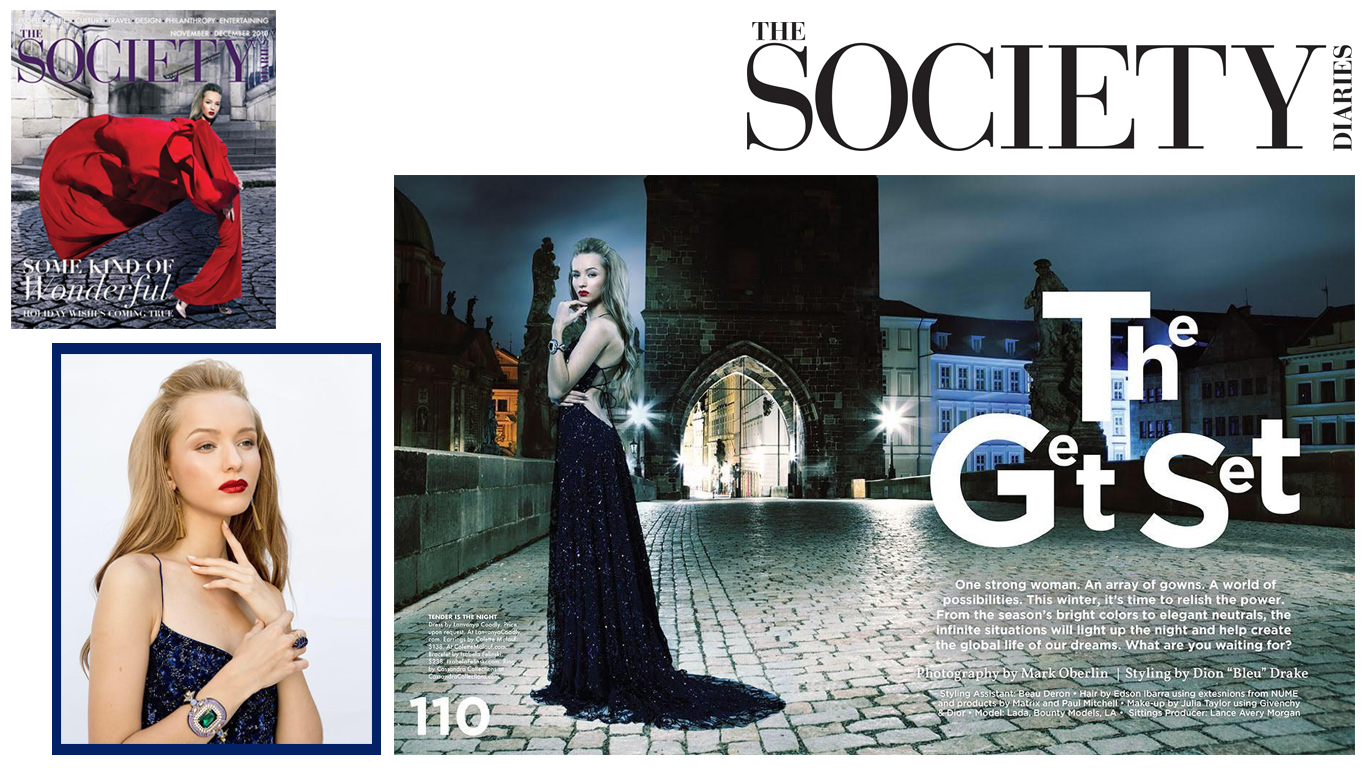 Amyra Dress on The Society Diaries Magazine