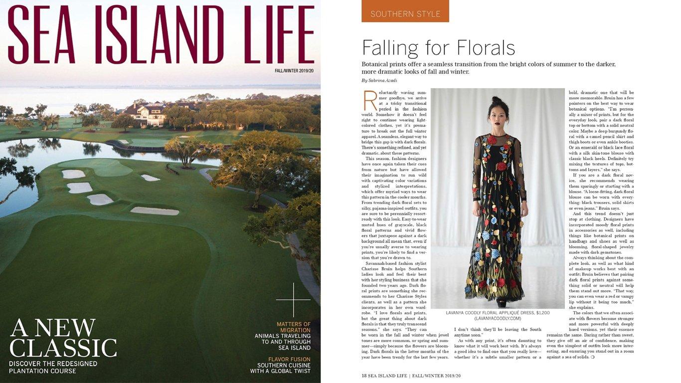 Fall/Winter 2019/2020 Issue of Sea Island Life Magazine